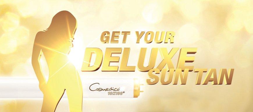 Cosmedico Cosmofit 10K100 Series Deluxe zonnebanklamp